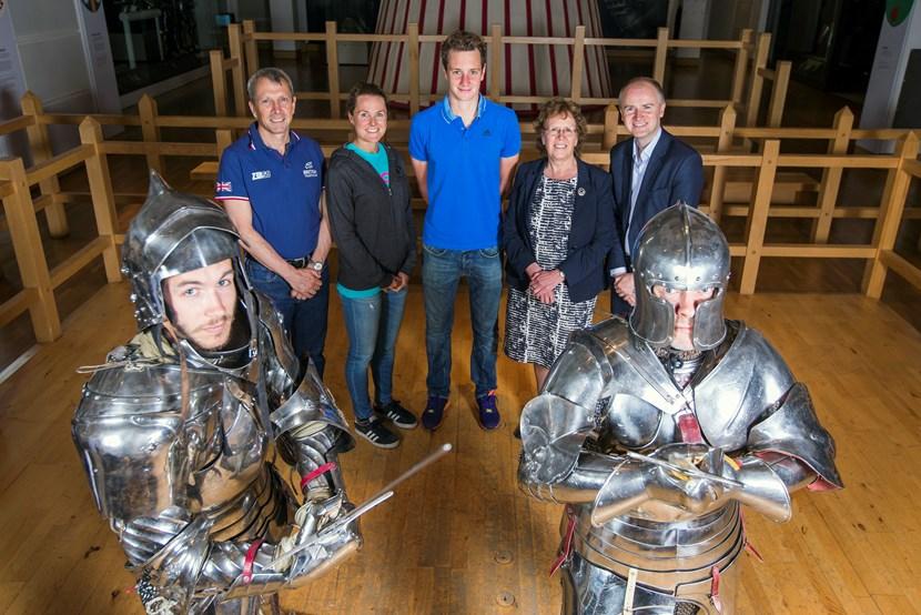 World's best prepare to go into battle at Columbia Threadneedle  World Triathlon Leeds: armouriesgrouppic.jpg