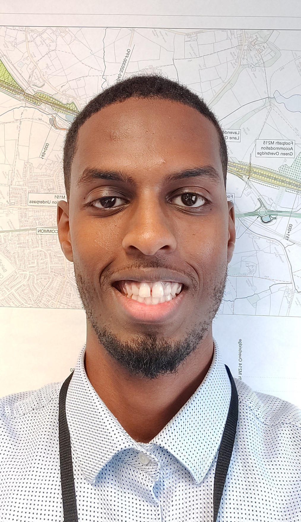 BCU graduate Ahmed is now working for BBV on HS2