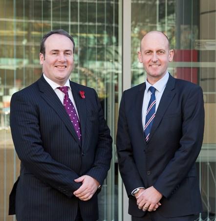 Paul Wheelhouse and Dave Tudor