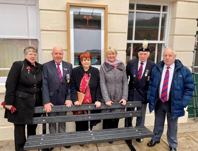 World War One memorial relocation officially welcomed to Bangor railway station: Bangor 1