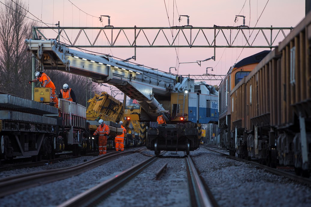 Passengers thanked for their patience as eight weekends of upgrades completed between London and Norwich: Witham upgrades March 2015