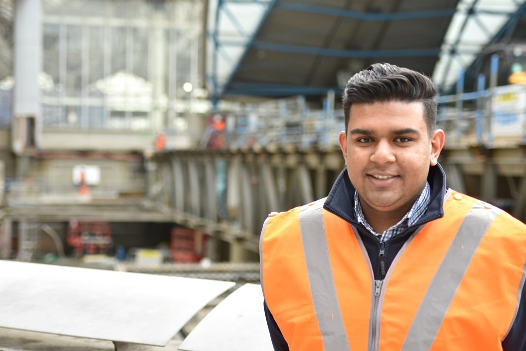 Network Rail graduate aims to inspire young engineers during Tomorrow's Engineers Week: Shyam Patel, project management graduate at Network Rail, is calling on young people to consider careers in engineering and the railway