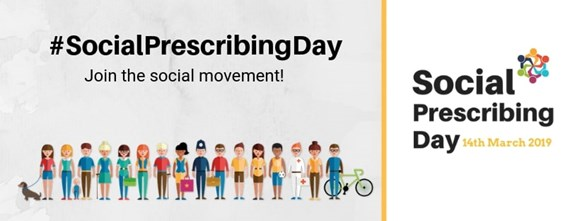 NEWS: Social prescribing helps to change lives in Redbridge: Social Prescribing Day logo
