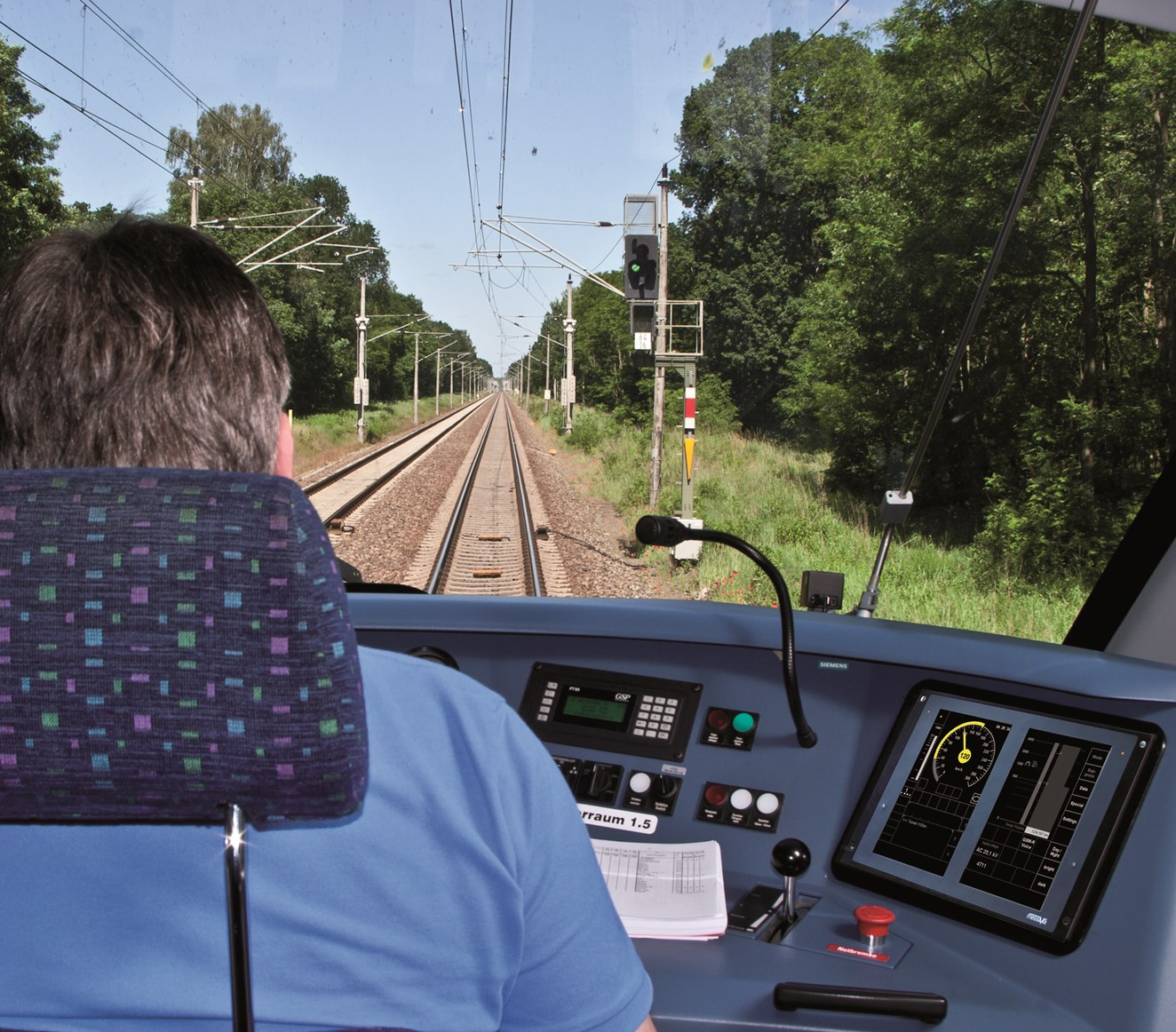 Siemens' Trainguard Level 2, Baseline 3 system will be installed on every freight loco