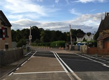 Onibury level crossing-8