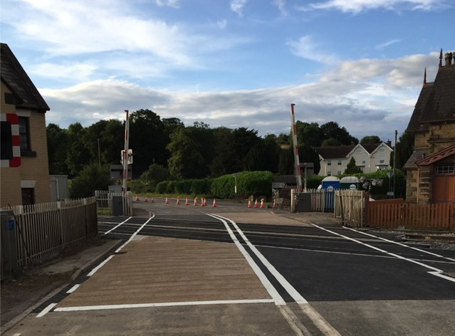 Shropshire residents invited to 'drop-in' to find out more about level crossing safety: Onibury level crossing-8