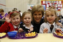 Back to school for First Minister: Available at https://www.flickr.com/photos/firstministerofscotland/15585439283/