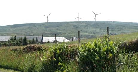 Fyne Energy Auchadaudie Turbines 2