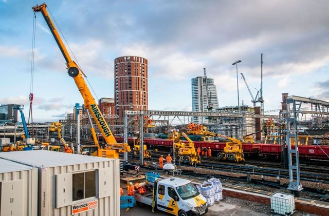Passengers urged to plan ahead as Network Rail carries out £80m railway upgrades over Early May Bank Holiday: Works-210