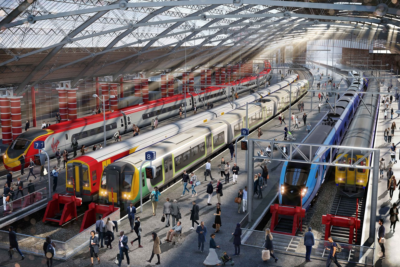 Liverpool Lime Street platforms 1 and 2 to reopen on Monday: Liverpool Lime Street Station refurbishment