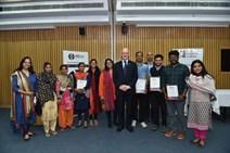 1- Deputy First Minister John Swinney with social entrepreneurs in India