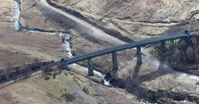 Auch viaduct Aerial