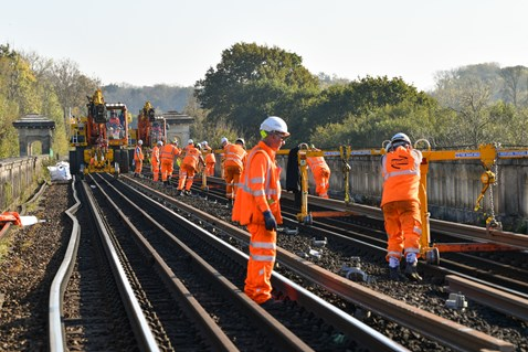 Brighton Mainline Upgrade Ouse Valley Oct 10  (56)