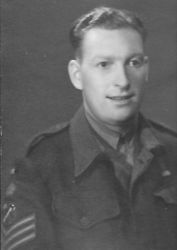 Staff Sgt Ernest J Horsfall