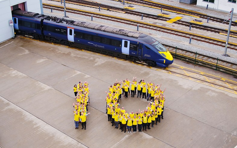 Southeastern Celebrates 10 Years of Highspeed Service: PinPep Southeastern 10YearsfService 002