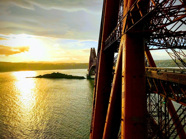 Forth Bridge fundraising reaches new heights: Forth Bridge Nov 18