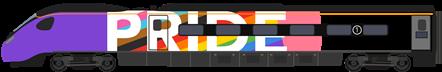 Pendolino Cab - Pride Train