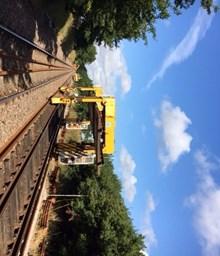 Westerfield track works