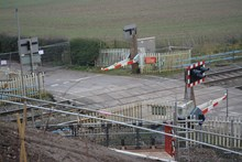 Ufton Nervet level crossing is now closed