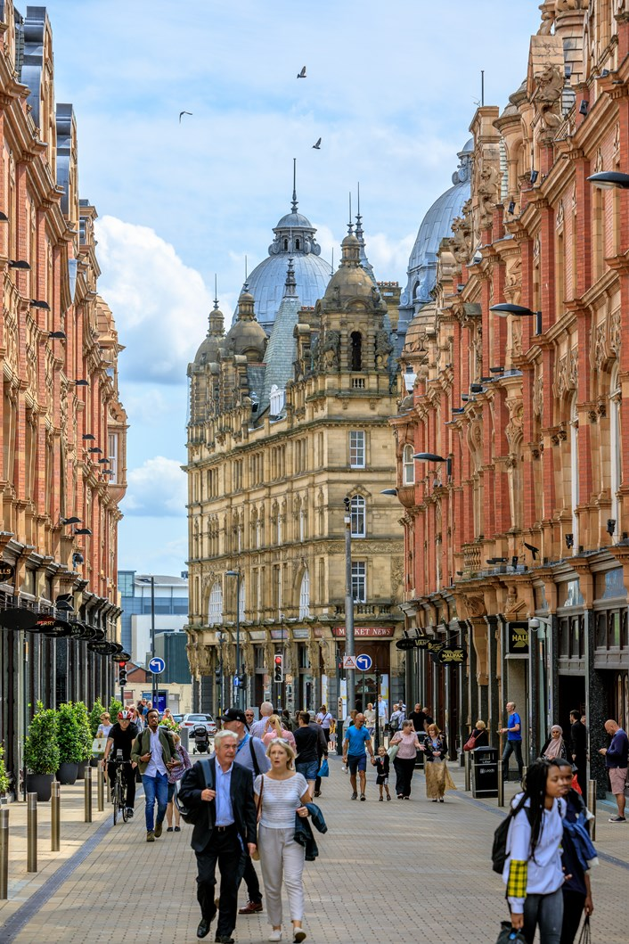 Leeds invites visitors to explore the city for longer this summer with complimentary nights at leading hotels: King Edward Street - credit Wide Oyster