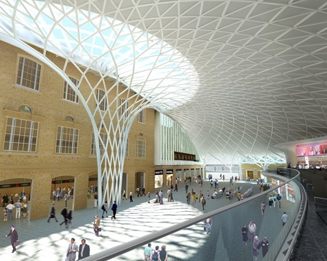 King's Cross - new concourse and ticket hall