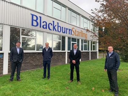 Blackburn Starling approved as Siemens Sivacon S8 Power Partner: Blackburn Starling