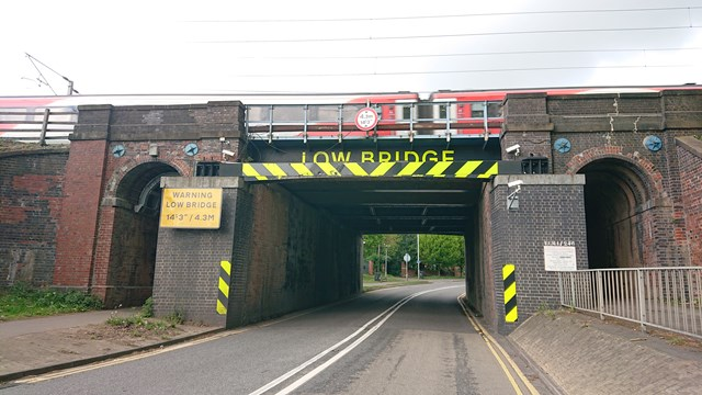 Two additional late-night road closures in Grantham as Network Rail carries out major work to railway bridges: Railway bridge at Barrowby Road