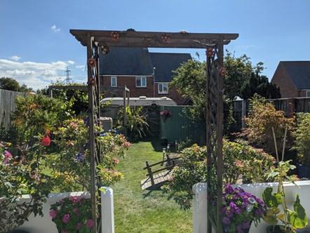 Winning large garden