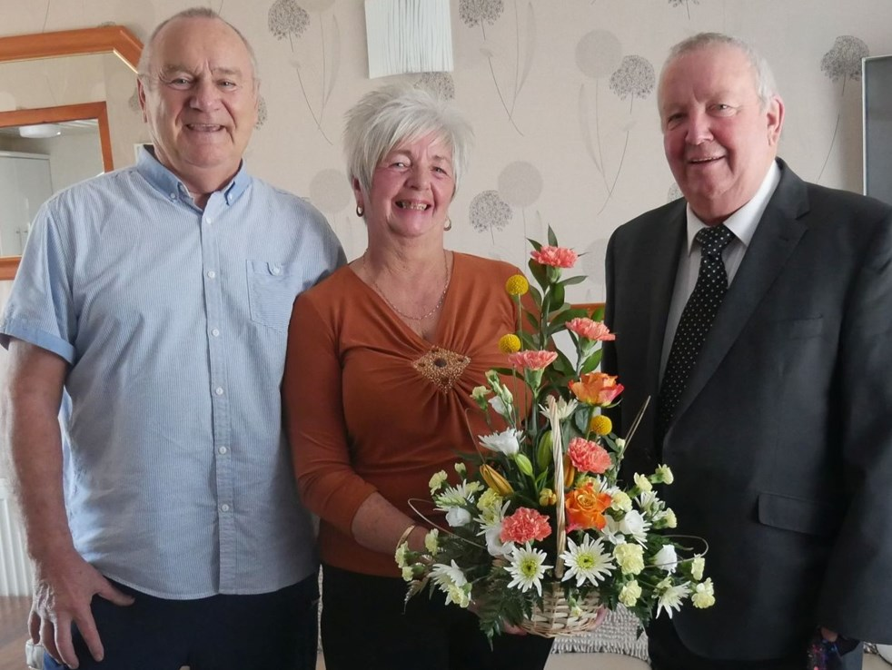 James and Fay Boyle celebrate Golden Wedding Anniversary