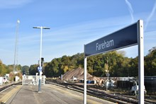 Network Rail has completed nine days of upgrade works at Fareham in which nine sets of points were replaced [3]