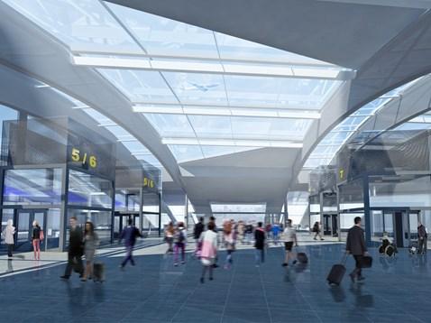 Gatwick Airport redevelopment - CGI2