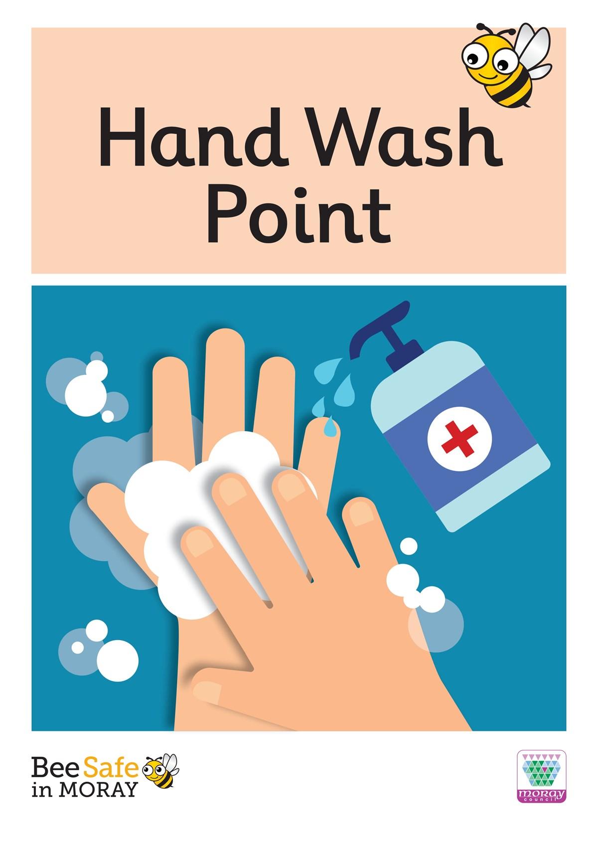 Bee Safe - hand wash point