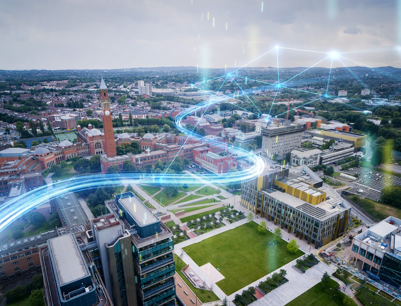 The University of Birmingham partners with Siemens to create the smartest university campus in the world: Siemens-EPS-UoB-Visual original high res