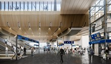 CGI completed London Bridge concourse: A CGI of what the concourse will look like when the Thameslink Programme station redevelopment is complete in Jan 2018.