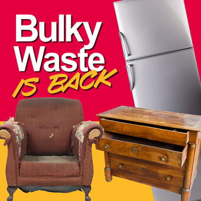 COVID-19: Bulky waste is back