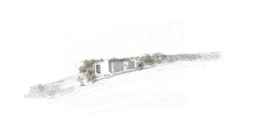 Adelaide Road Headhouse site plan visualisation: Tags: Headhouse, CGI, London, Camden, Tunneling, Key Design Element