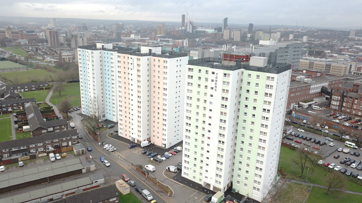 Leeds City Council to invest £100m improving energy efficiency of council housing by 2025: Shakespeare buildings
