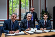 MSIP Ltd signing