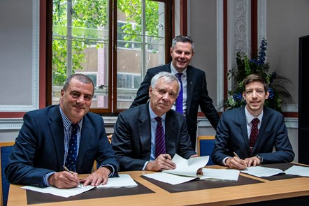 """Partners to create """"first-class"""" innovation centre at Michelin's Dundee plant: MSIP Ltd signing"""