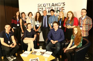 Young people have Scotland's Future in their hands