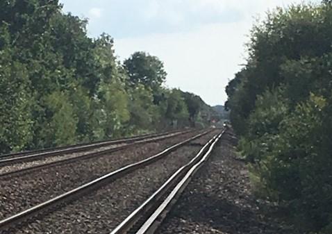 Wobbly track near Keymer Junction-2