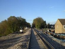 Wrecclesham Landslip Line Re-opening, 3 May 2016
