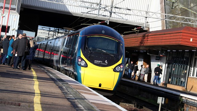 Lifts to be made more reliable for passengers at Birmingham International station: Pendolino - Birmingham International - Credit Avanti West Coast