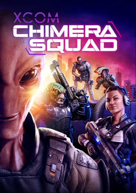 XCOM Chimera Squad Art Vertical