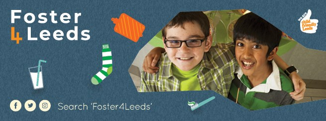 Urgent appeal for foster carers in Leeds: Foster4Leeds banner