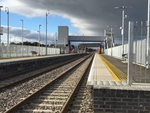 Forres station day
