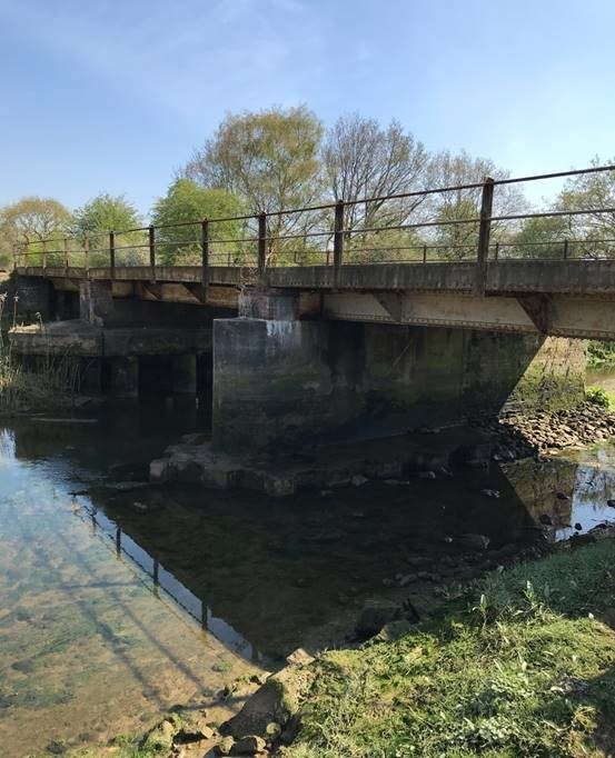 Essential works planned at Deben bridge to keep East Suffolk Line services running safely and reliably: River Deben Suffolk