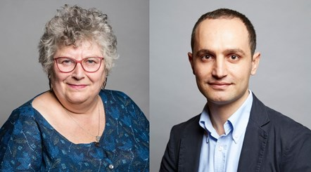 Councillors Sue Lukes and Nurullah Turan