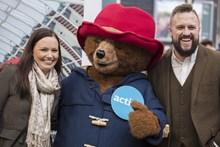 Thumbs up from Paddington Bear