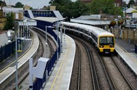 Times are changing: more services and new journeys in Southeastern's May timetable: 465 at Gravesend (2)